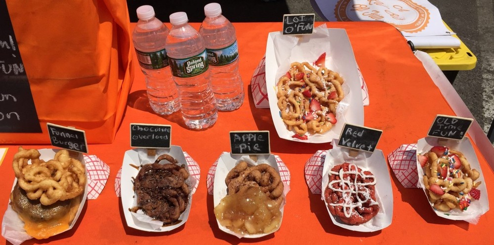 LIC Flea and Food funnel cakes 6.25.16