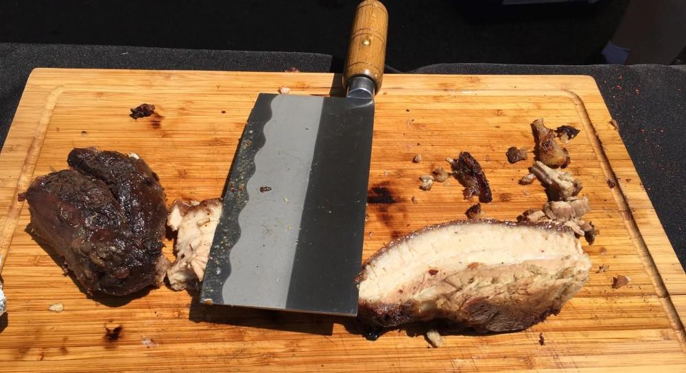 LIC Flea and Food pork 6.25.16