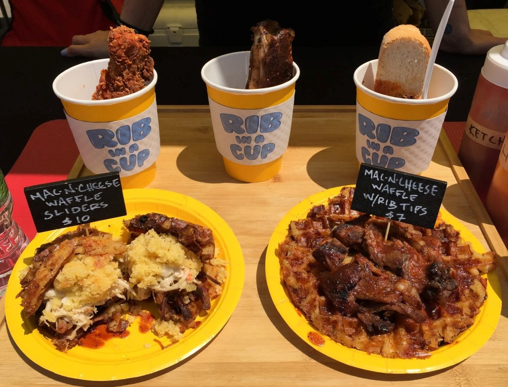 LIC Flea and Food Ribs in a cup 6.25.16