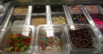 Holey Cream toppings