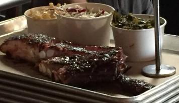 Hometown BBQ platter