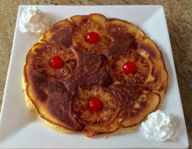 pineapple upside down pancakes 7.3.16