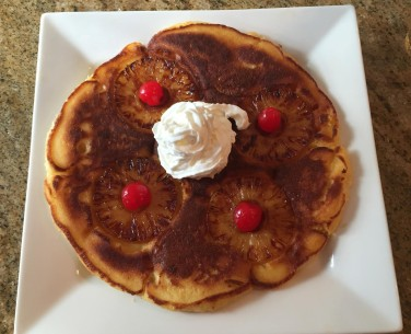 Pineapple upside down pancakes_5