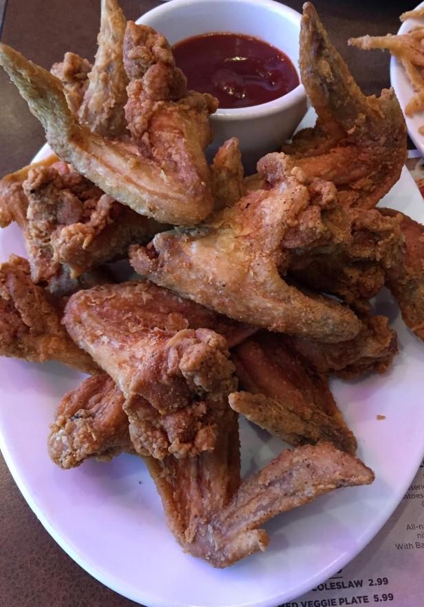 BBQs crispy wings