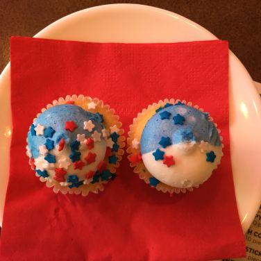 BBQs cupcakes