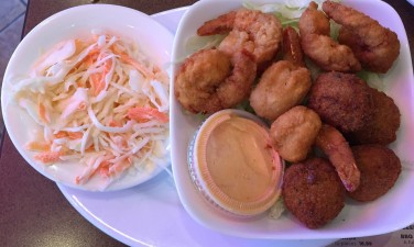 BBQs shrimp and crab