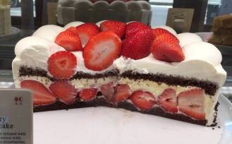 Stawberry Chocolate Cake