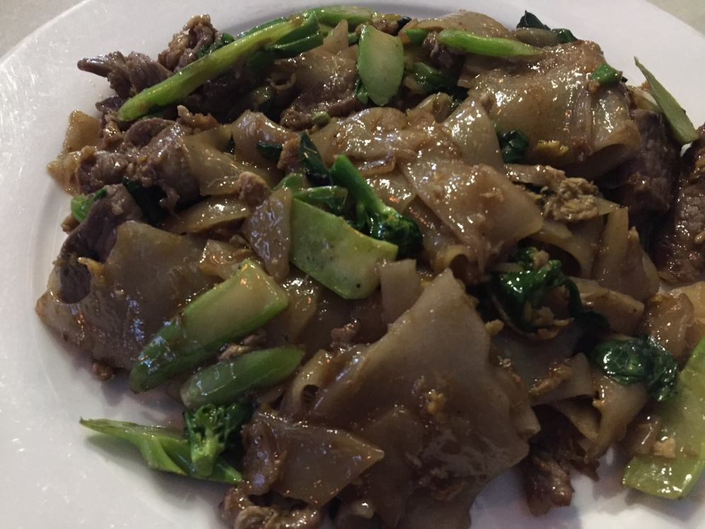 Black Noodles with Beef